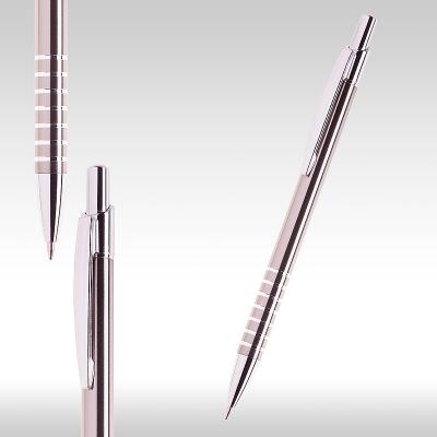 сива метална химикалка 26069 (ГРАФИТ)