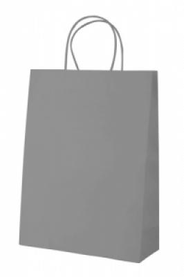 """""""Store"""" paper bag-grey"""