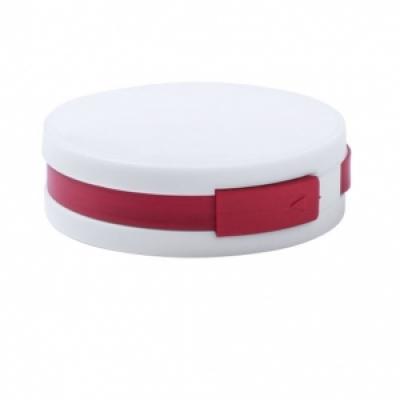 Пластмасов хъб с 4 порта, USB 2.0; AP781136-05 - червен