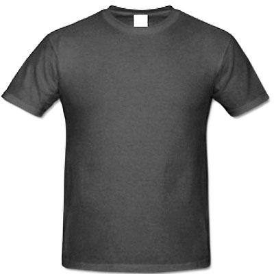 Мъжка обикновена тениска  ГРАФИТ