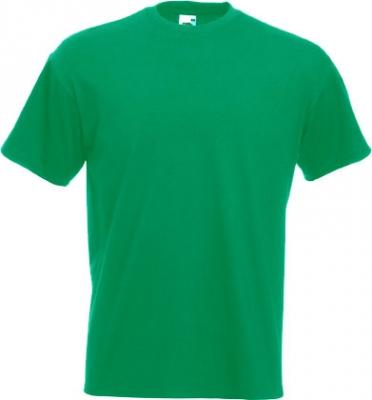 Мъжка обикновена тениска  - ЗЕЛЕНА