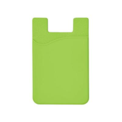 Силиконов калъф за смартфон - зелен