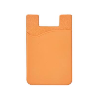 Силиконов калъф за смартфон - оранжев