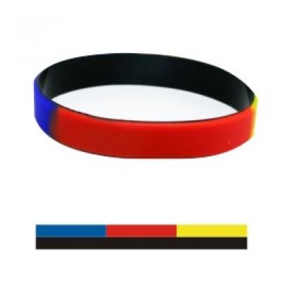Силиконови гривни в 3 цвята, код31993