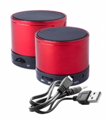 """Martins"" bluetooth speaker-red-червен"