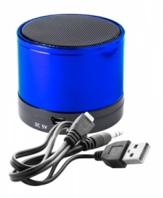 """Martins"" bluetooth speaker-blue-син"