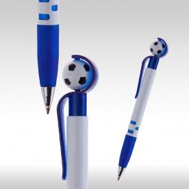 футболна химикалка синя