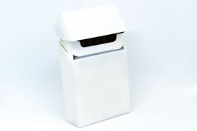 Рекламна кутия за цигари (калъф) от силикон - бял