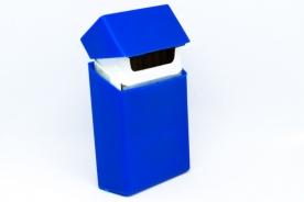 Рекламна кутия за цигари (калъф) от силикон - син