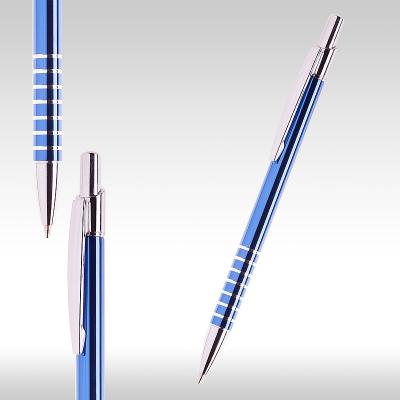 Метална химикалка светло синя 26063