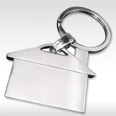 ключодържател метален модел къщичка
