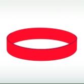 червена силиконова гривна