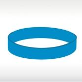 синя силиконова гривна