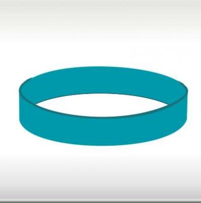 силиконови гривни сини-тюркоаз