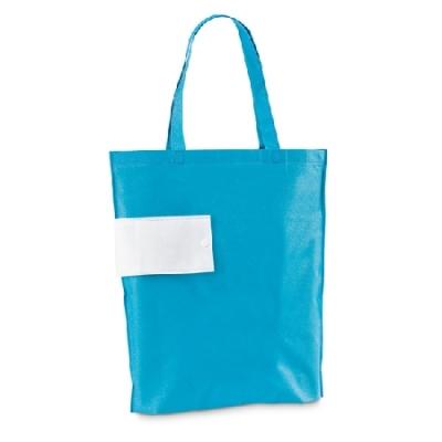 Светло синя сгъваема чанта