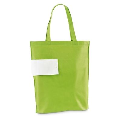 Зелена сгъваема чанта