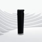 Черна 3D Матова запалка с тристранен печат