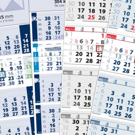 Календари с 4 тела