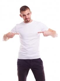 MC150 Мъжки едноцветни тениски