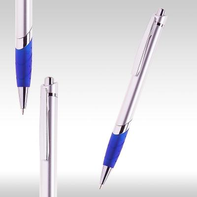 Химикалка Сребърно/синьо 72562