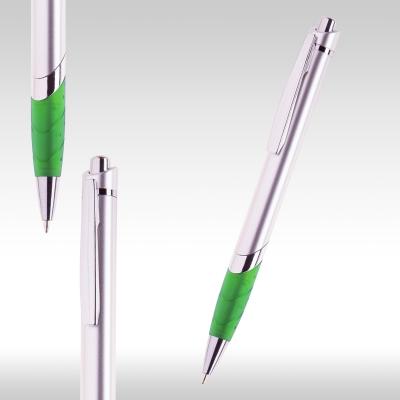 Химикалка Сребърно/зелено 72564