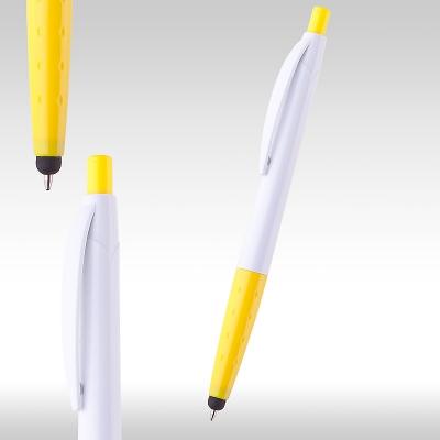 iPen химикалка 80636 бяло/жълто