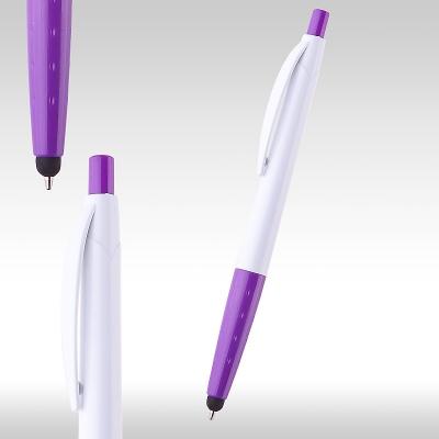 iPen химикалка 80637 бяло/лилаво
