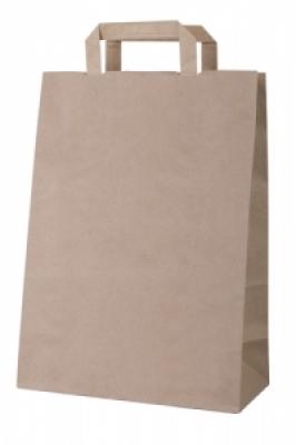 Бутикова хартиена чанта-сива