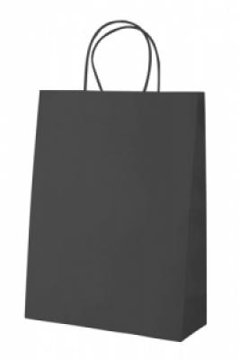 """""""Store"""" paper bag-black"""