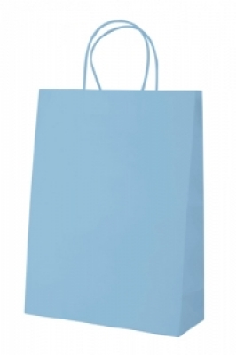 """Store"" paper bag- light blue"