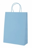 """Store"" paper bag- light blue"