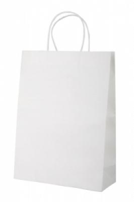 """Store"" paper bag-white"