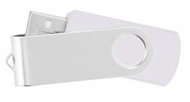 Usb flash памет style swivel 403 51 - бяла