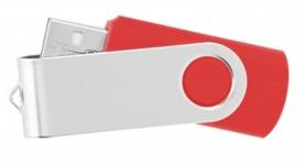 Usb flash памет style swivel 403 3Х - червено