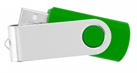 Usb flash памет style swivel 403 4Х - зелено