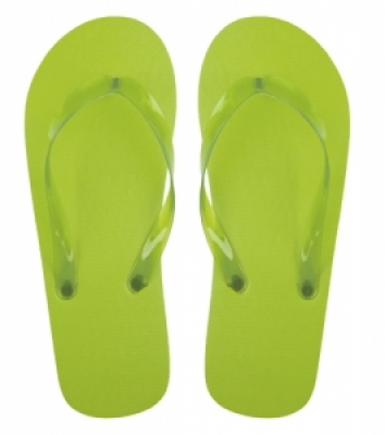 Varadero green beach slippers