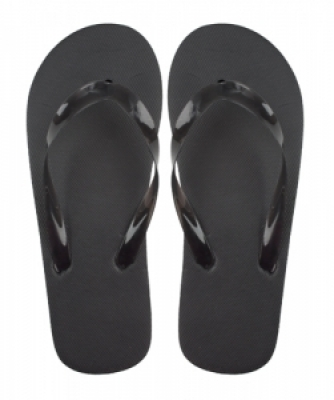 Varadero black beach slippers