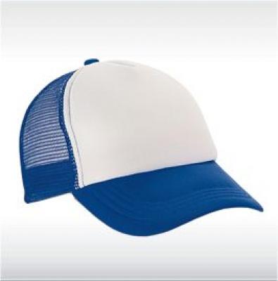 Синя бейзболна шапка с мрежа