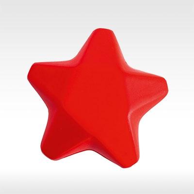 Антистрес звезди Ease, червена