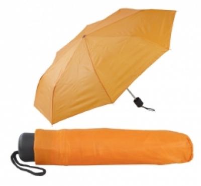 Сгъваем ръчен чадър с калъф - АР731636-03 оранж