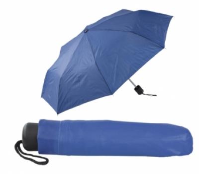 Сгъваем ръчен чадър с калъф - АР731636-06, син