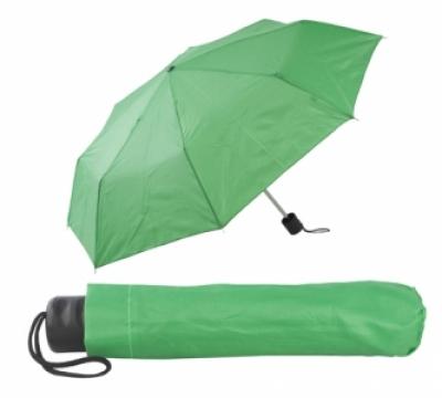 Сгъваем ръчен чадър с калъф - АР731636-07, зелен