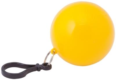 Дъждорани пончо - STORM с карабинка, в кутийка, AP731644-02 -жълт