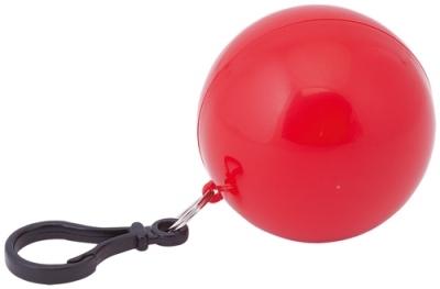 Дъждорани пончо - STORM с карабинка, в кутийка, AP731644-05 - червен