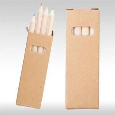 Комплект 4 бр. цветни моливи