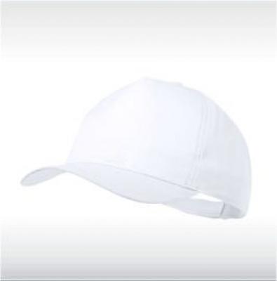 Бяла бейзболна шапка