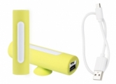 """Khatim"" USB power bank yellow"