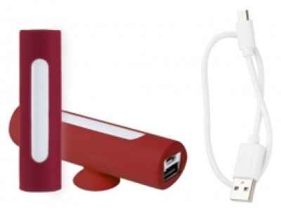 """Khatim"" USB power bank red"