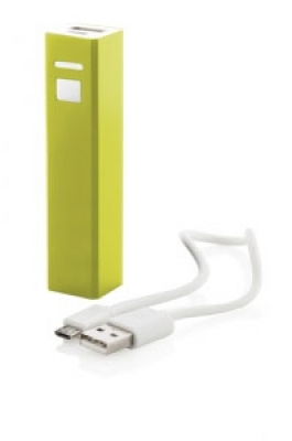 """Thazer"" USB power bank yellow"
