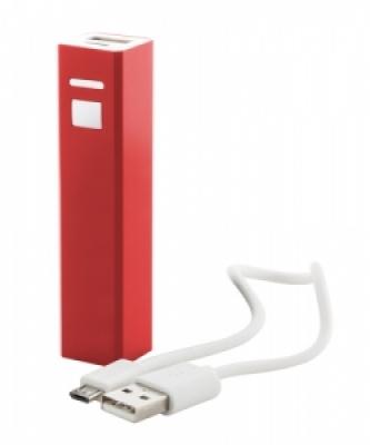 """Thazer"" USB power bank red"